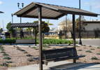 Small Steel Shade Shelters