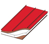 multi rib roof over stuctural insulated panel