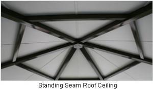 Standing Seam Roof Interior Ceiling