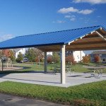 Rectangle Steel Shade Shelter