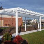Trellis Steel Shade Shelter