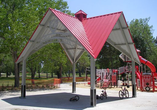 Crossing Park Shade Shelter