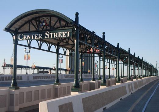 Custom Walkway - Transit Shelter