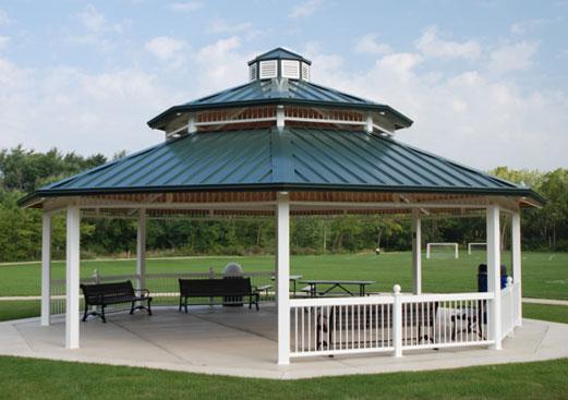 Carmel Clerestory - Octagon Hip Roof Gazebo