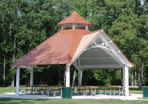 Grand Haven Hexagon - Park Shelter