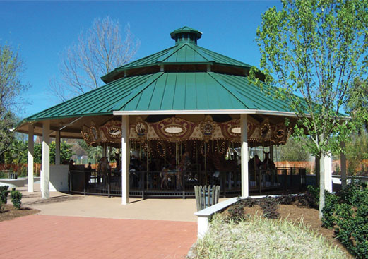 Clerestory Pavilion - Carousel Cover